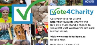 Vote For Charity SPCA