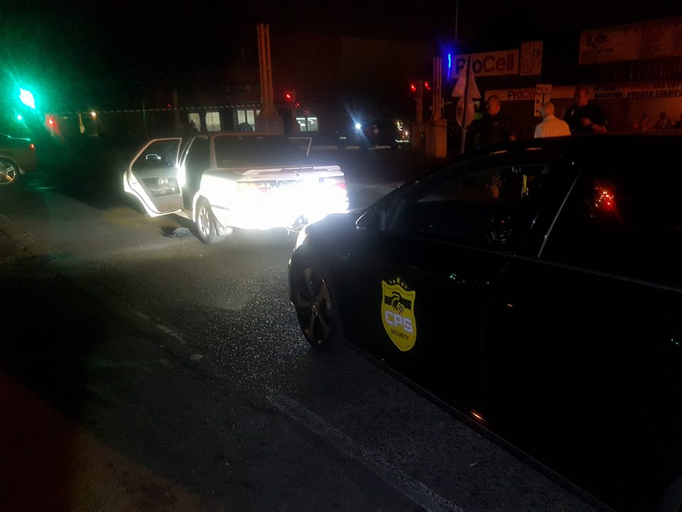 High speed chase in Swartkoppies